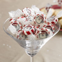 Let It Snow - Father Christmas Rock Sweets